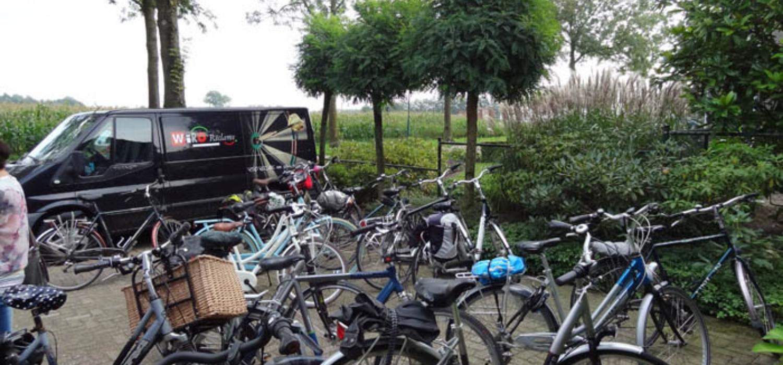 Foto fietstocht 2